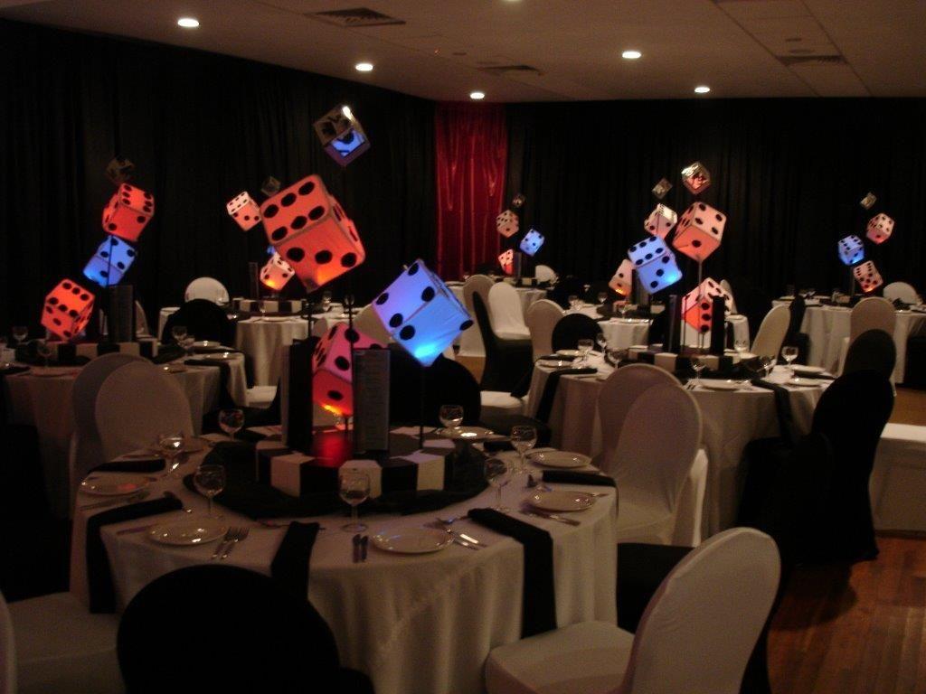 Table Decor Sa Wedding Decor Casino Theme Pinterest Casino
