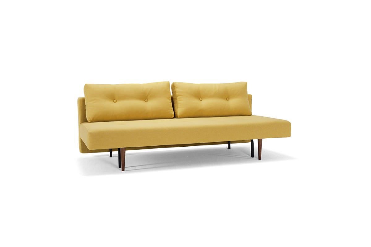Per Weiss Sofa Bed Uk Recast Plus Sofa Bed Full Size Soft Mustard Flower By Innovation