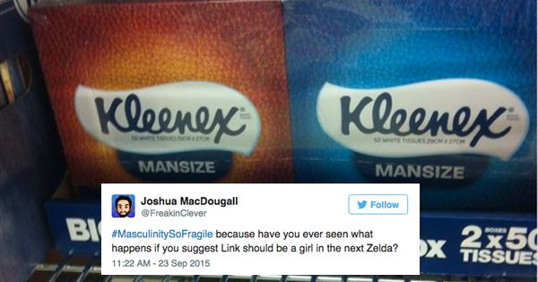 Gender Norms Are Questioned With Hashtag Masculinitysofragile This Or That Questions Gender Norms Gender