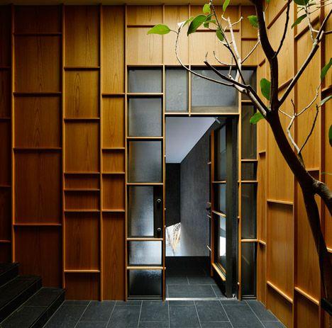 home and workplace for a car dealer, Hiroshi Nakamura, tokyo - dezeen