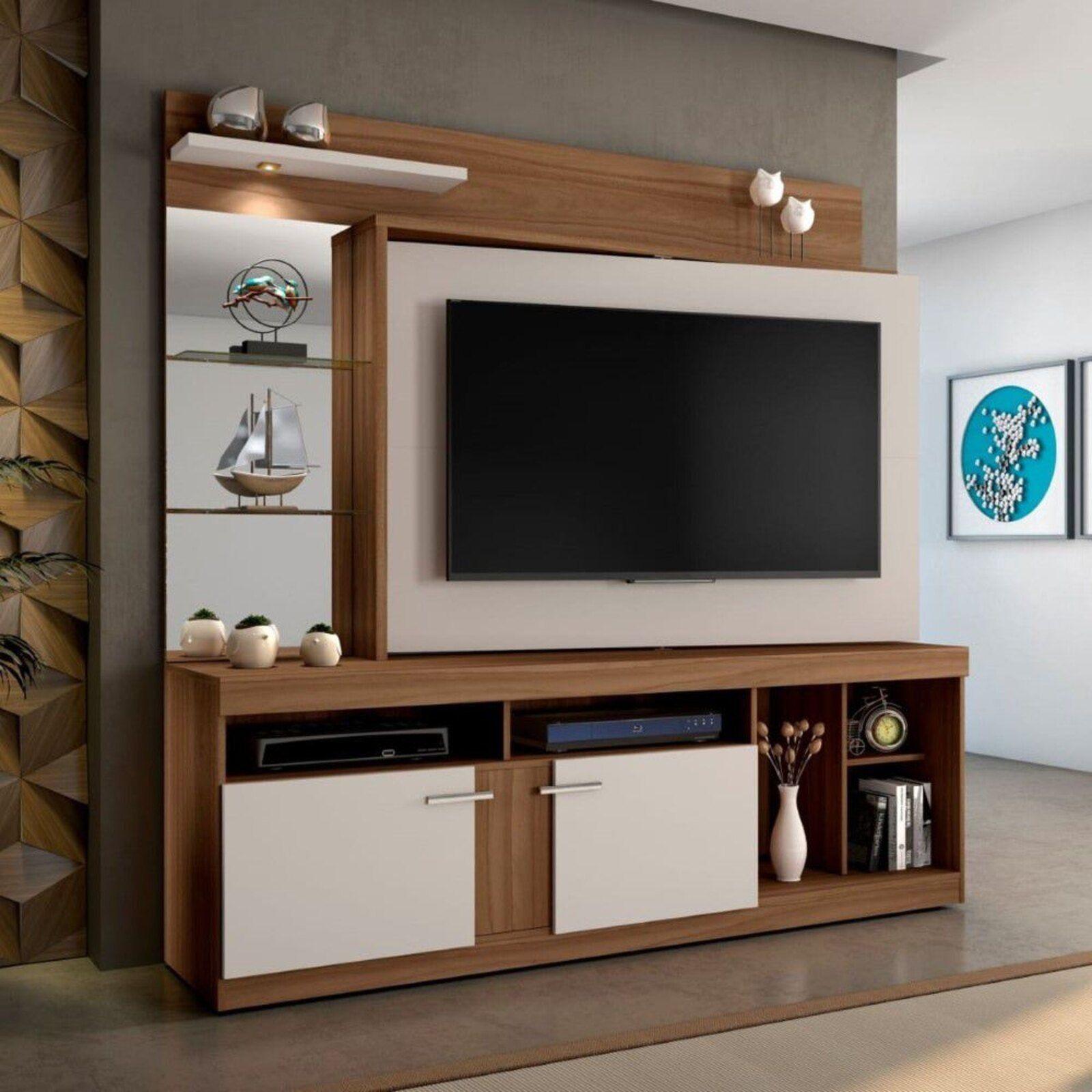 Home Brasil 02 portas JCM Movelaria RovereOff   Living room
