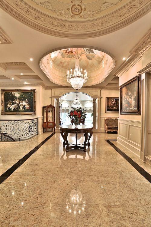Magnificent custom mansion 3 399 000 cad french dream - Recibidores de lujo ...