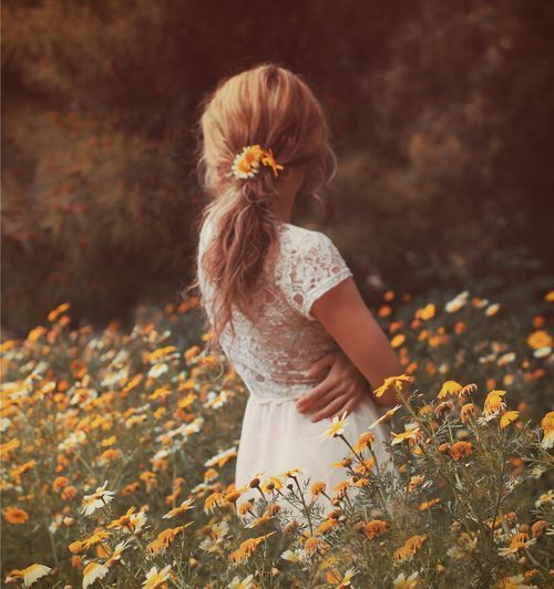 Field of flowers. :) Senior inspiration.