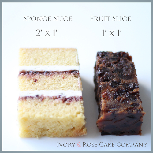 wedding cake slice wedding cake size slices advice from ivory amp cake co 24903