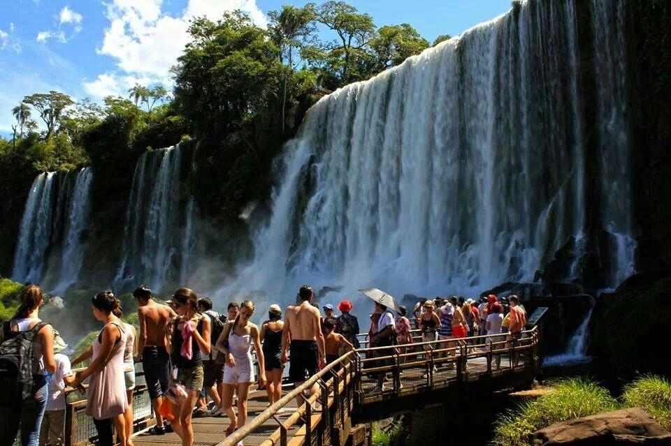 Iguazu Falls, PR.