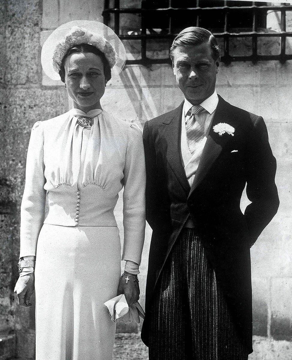 Wallis Simpson, Duchess of Windsor and Edward VIII, Duke of Windsor