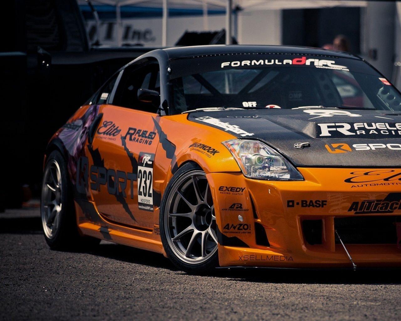 1280x1024 Cars Nissan 350z Orange Cars Jdm 1920x1080 Wallpaper .