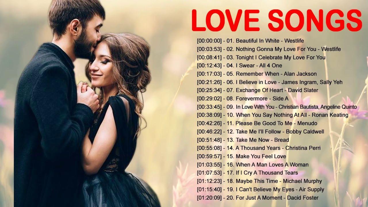 La Mejor Lista De Reproducción De Canciones De Amor En Inglés Love Songs James Ingram Songs