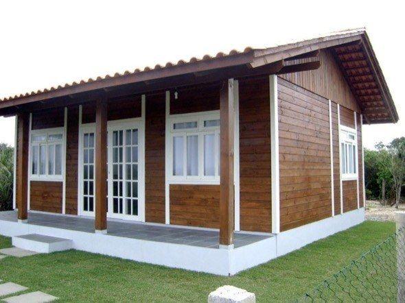 9 Modelos De Casas Pre Fabricadas De Madeira Casa Simples
