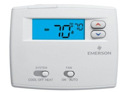 White Rodgers 2 Quot Display Heat Pump Non Programmable