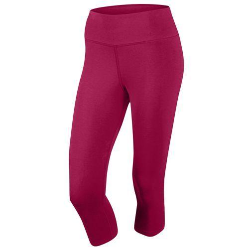 946f8773de4100 Nike Legend 2.0 Tight Dri-Fit Cotton Capris - Women's - Training - Clothing  - Black Heather/Red Violet