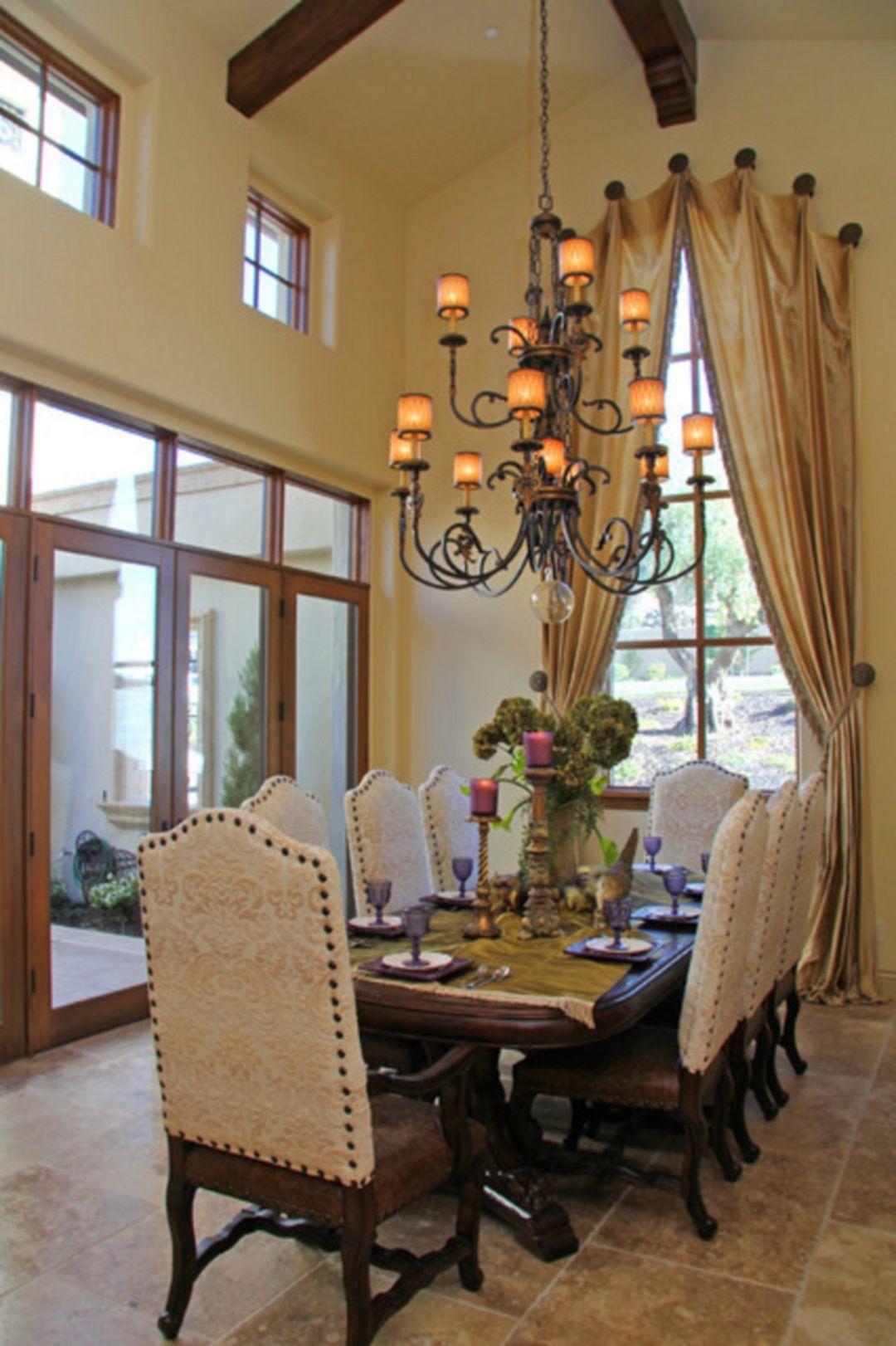 40 Mediterranean Dining Room Design Ideas For Amazing Home
