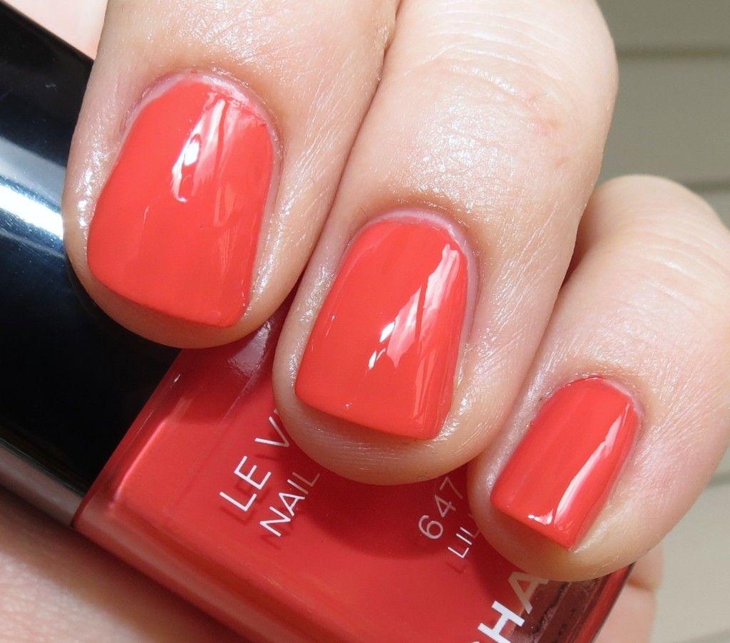Chanel LILIS 647 Le Vernis Nail Polish #Swatches & #Review – L\'Ete ...