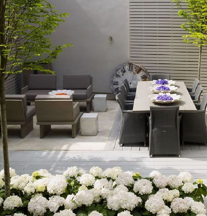 Sophisticated Garden Design By Kelly Hoppen. Who Knew