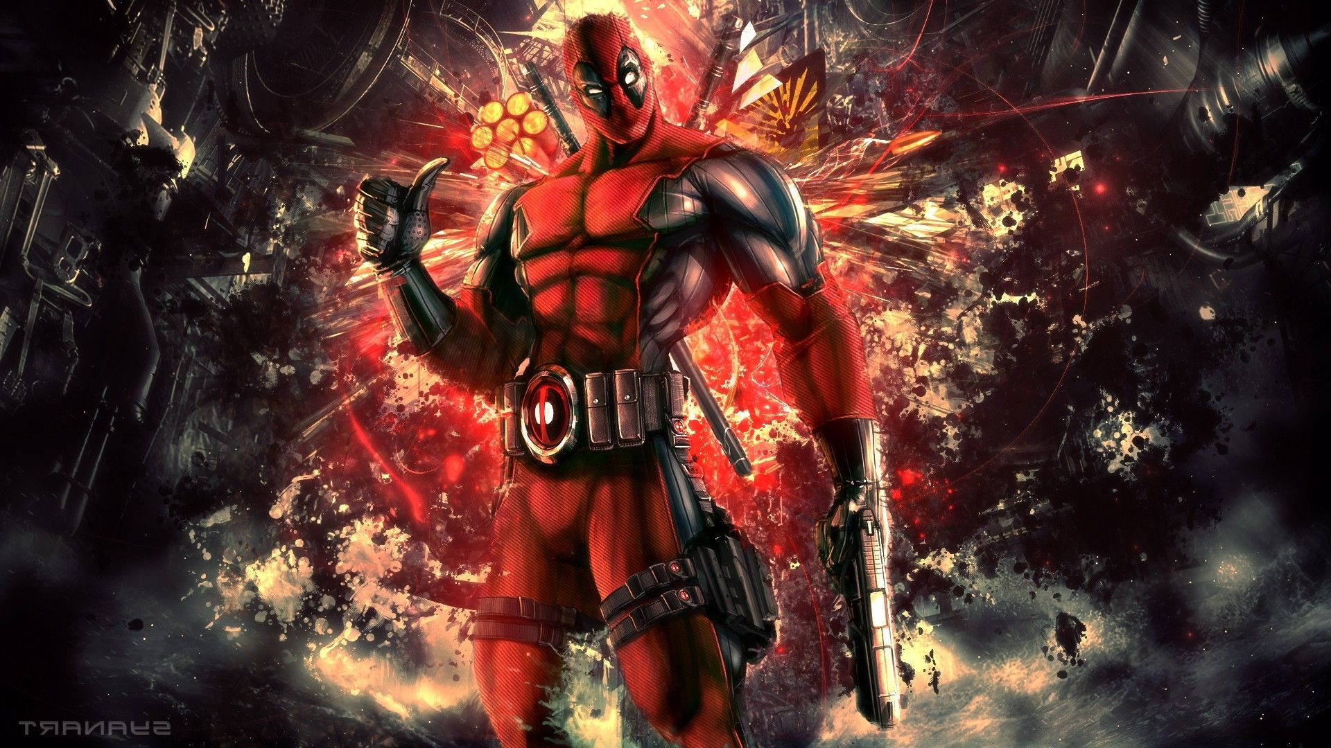 Download hd wallpapers of 27041Deadpool, Marvel Comics