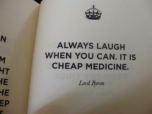 always laugh at everything!