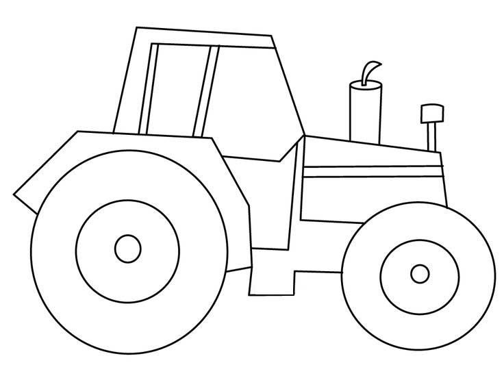 25 Best Tractor Coloring Pages To Print http://procoloring… | Free ...