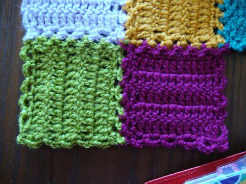 crochet mood blanket how to crochet the squares!!!! ♡ Teresa Restegui http://www.pinterest.com/teretegui/ ♡