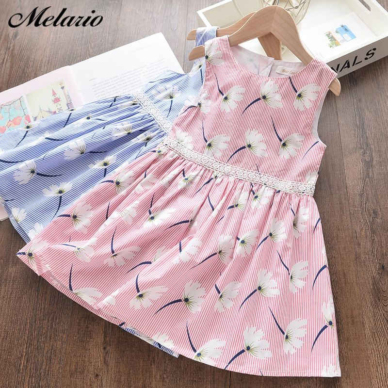 Melario Girls Dresses New Sweet Princess Dress Baby Kids Girls Clothing Wedding Party Dresses Children Clothing Pink Applique | www.babyliscious.com