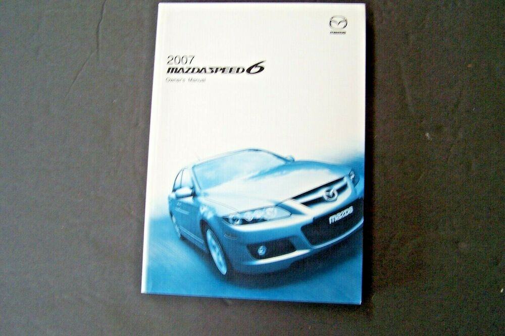 2007 Mazda Speed 6 Owners Manual Service New Original Mazdaspeed6 Navigation Owners Manuals Mazda Navigation