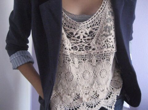 Imagem de fashion, style, and lace