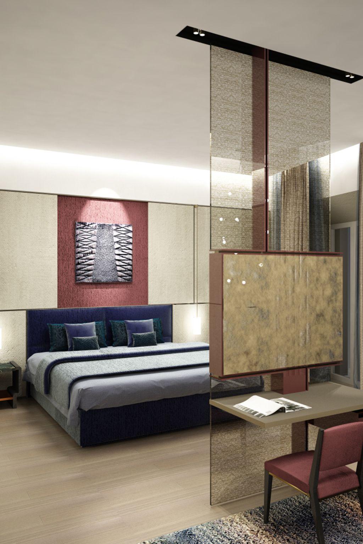 Palazzo Fendi   I nterior I   Camera da letto