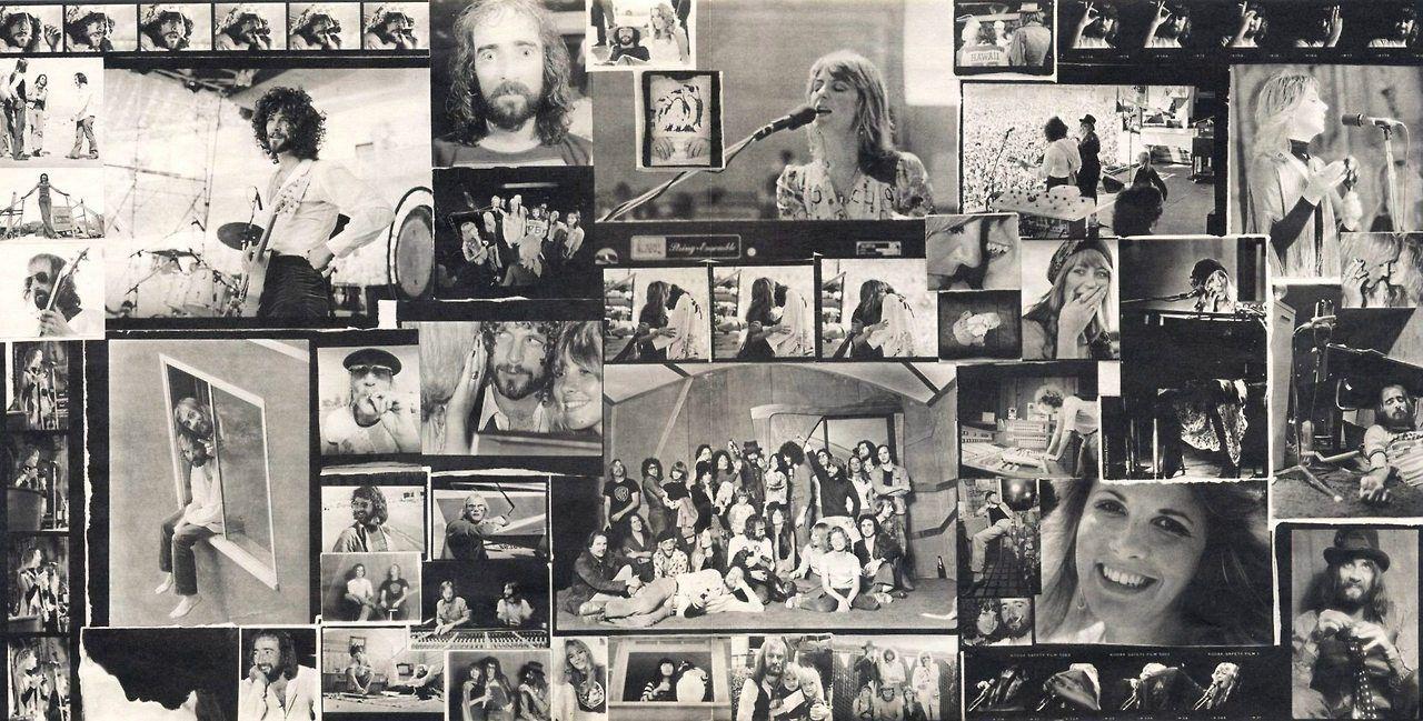"""Fleetwood Mac Rumours vinyl album insert. Full size (x"