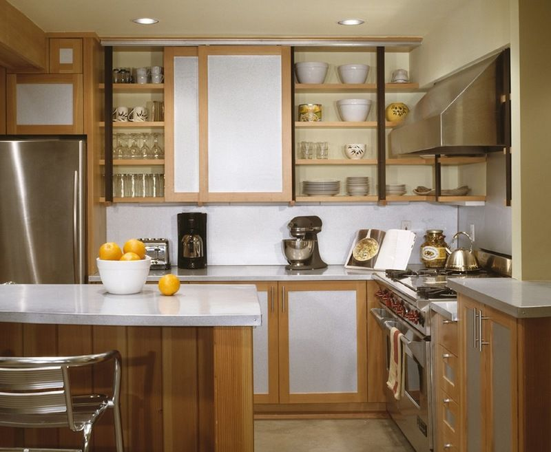 I Love The Idea Of Sliding Cabinet Doors On Top They Could Even Be Made To Look Like Barn Doors Or Made Kitchen Plans Kitchen Cupboard Designs Kitchen Design
