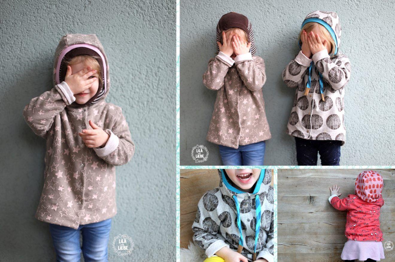 Kinderjacke Freebook Jackenliebe - kostenloses