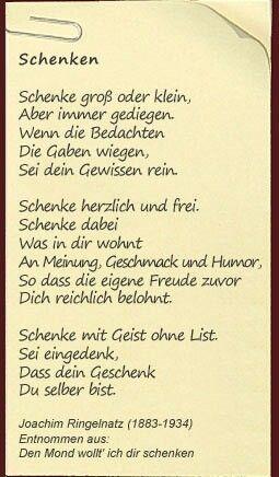 Pin Von Soldi Auf Meine Gedichte Sammlung Die Gabe Freude Humor