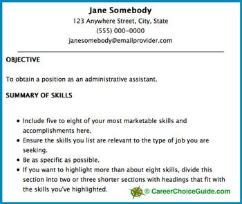 Example Of Resume Title Page   Http://www.resumecareer.info/