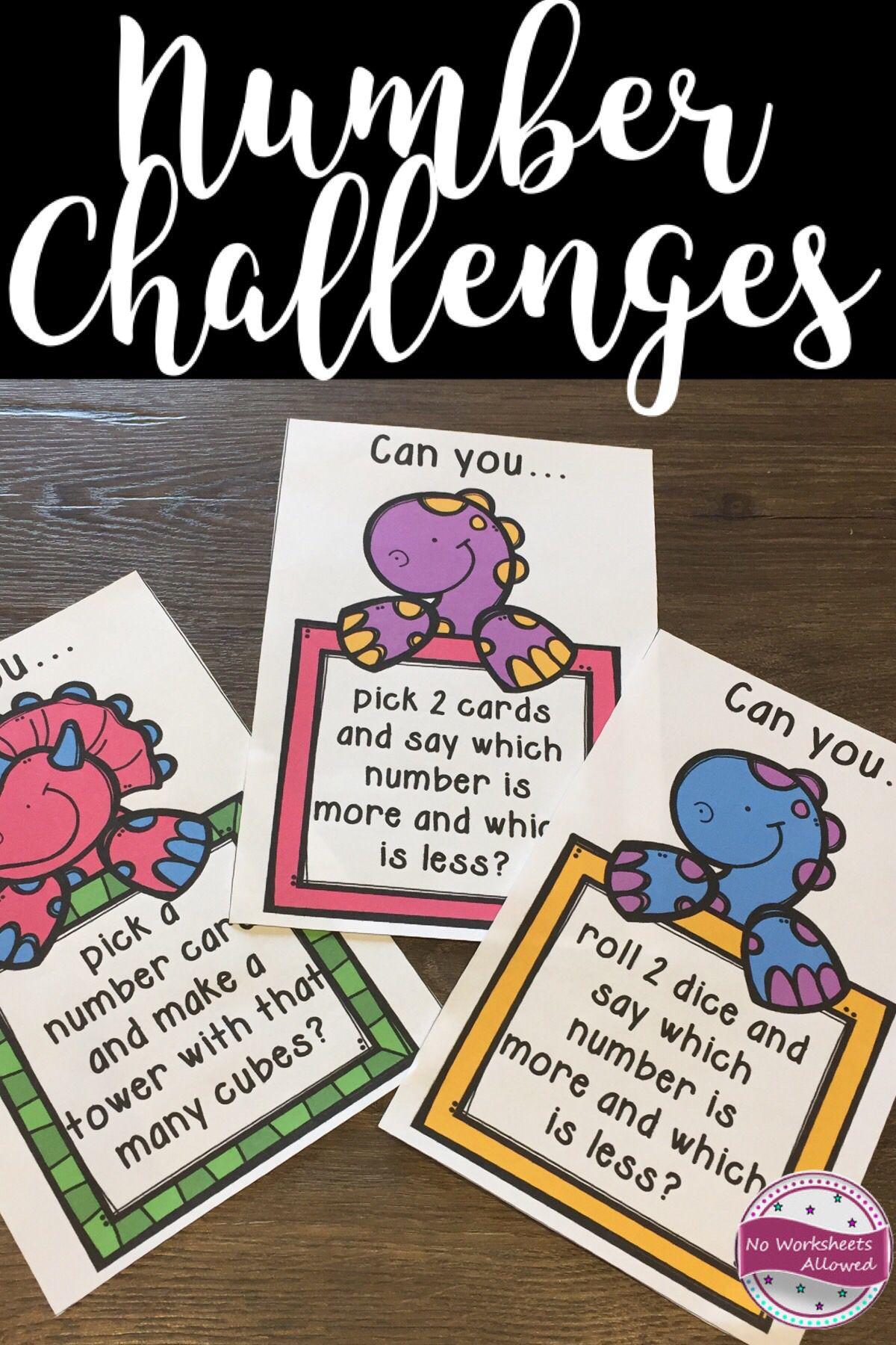 Task Cards To Teach Number Sense Number Recognition