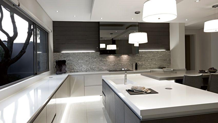 Blu_line Functional Kitchen Design