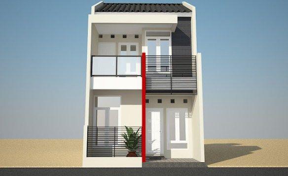 Tampak Depan Rumah Minimalis 2 Lantai 7 Desain Rumah Minimalis Rumah Minimalis Desain Rumah Minimalis Denah Rumah