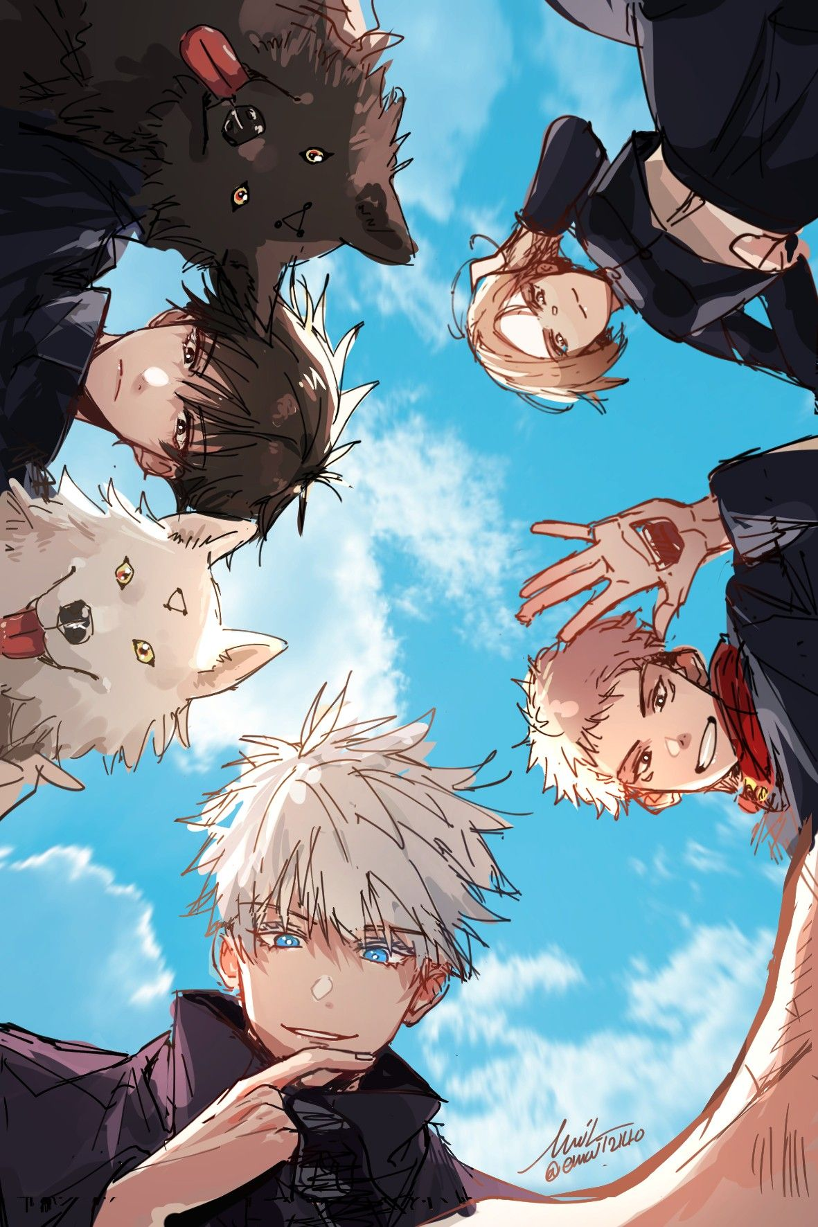 Jujutsu Kaisen Aesthetic Anime Anime Guys Anime