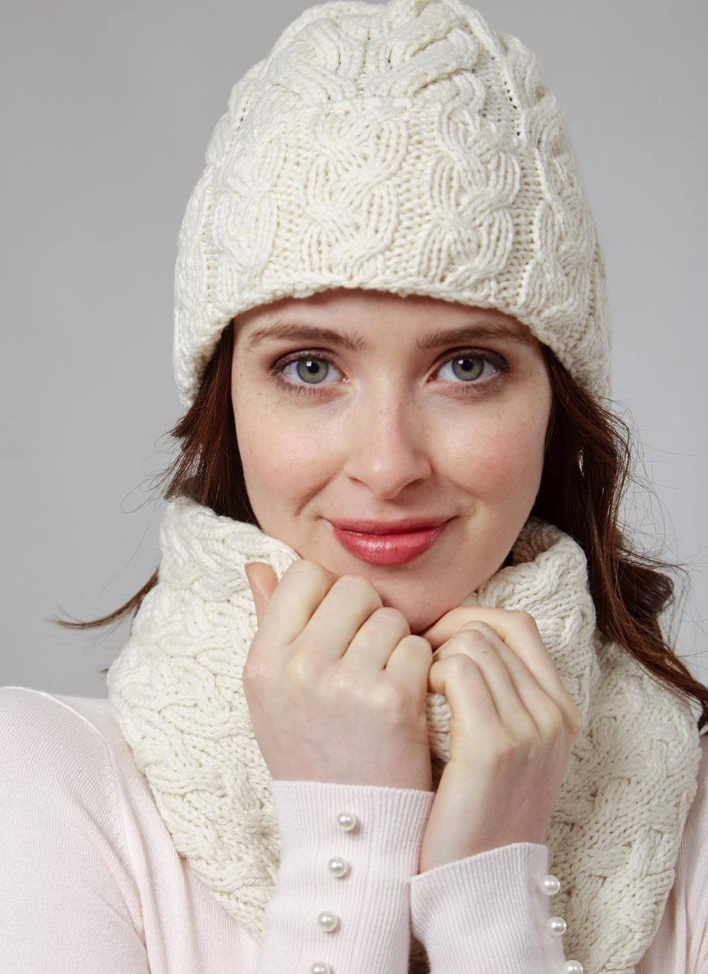 Supersoft Merino Wool Hat Infinity Scarf Set Natural Merino Wool Hats Wool Hat Scarf Set