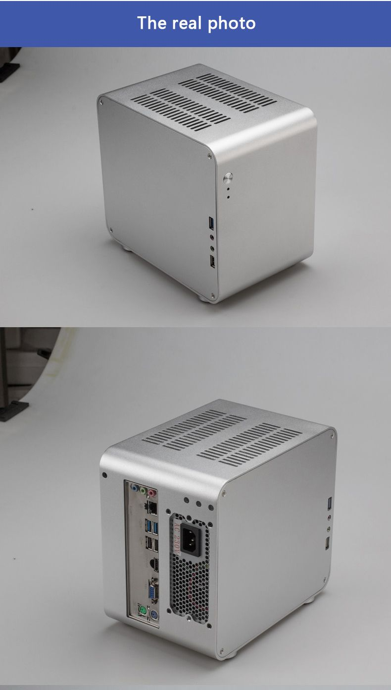 Itx Case Itx Power Steel Case Mini Case Diy Pc Case Computer