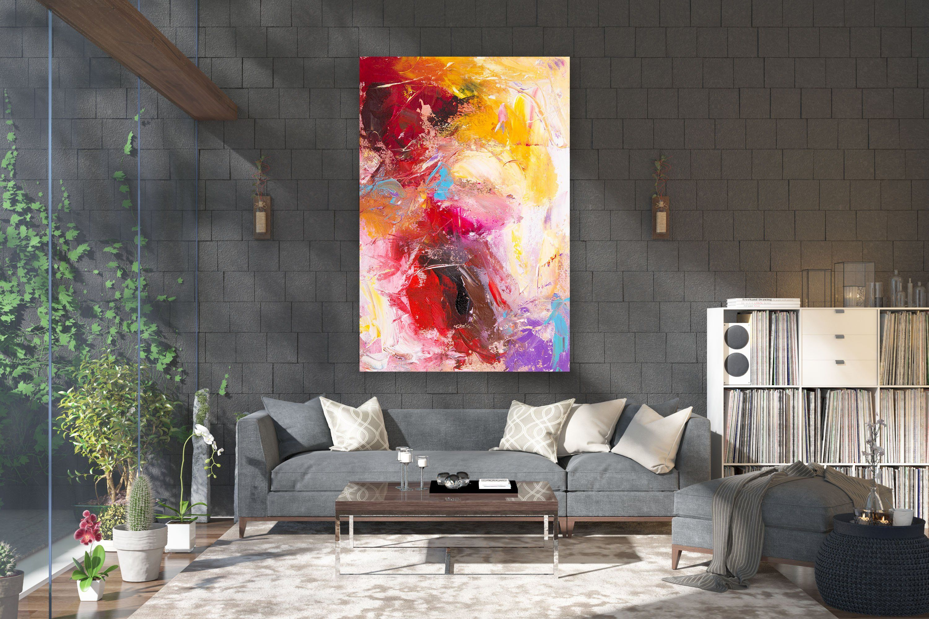 Large Modern Wall Art Painting Large Abstract Painting On