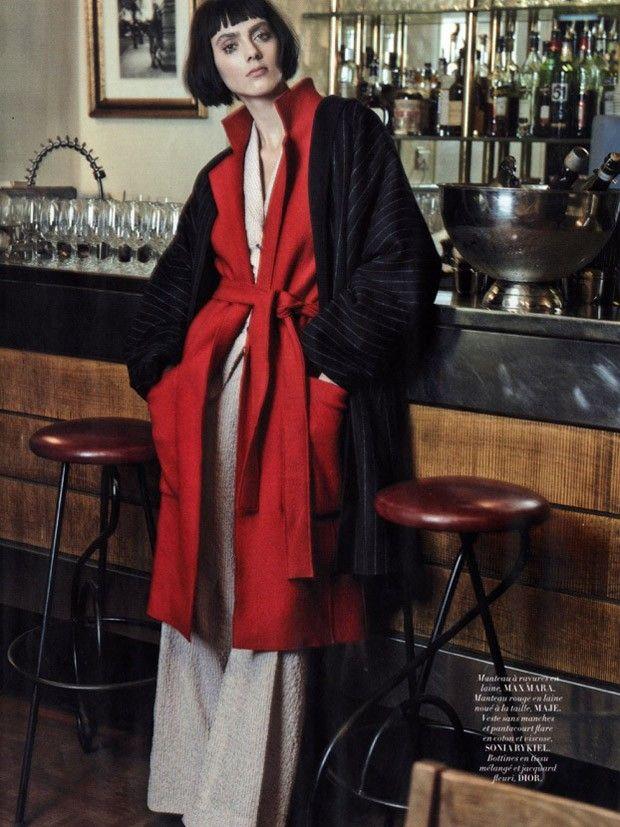 L'Officiel Paris January 2016 - Agnes Sokolowska - Billy Ballard