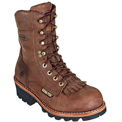 Insulated Steel Toe Logger Boots