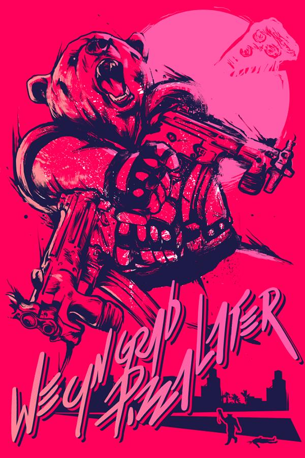 Hotline Miami 2 Posters On Behance Videoigry Igrovye Arty Vyrazheniya Lica