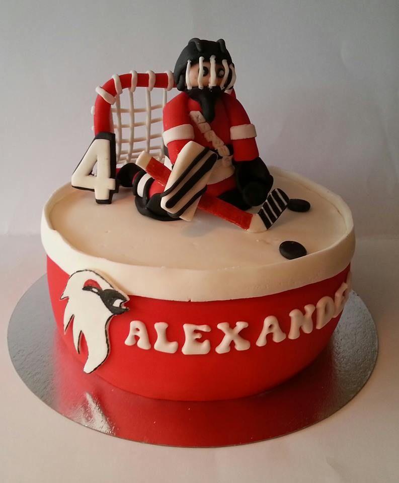 Pin By Hockey Hunks On Inspiration Hockey Cakes Hockey Birthday Cake Hockey Birthday