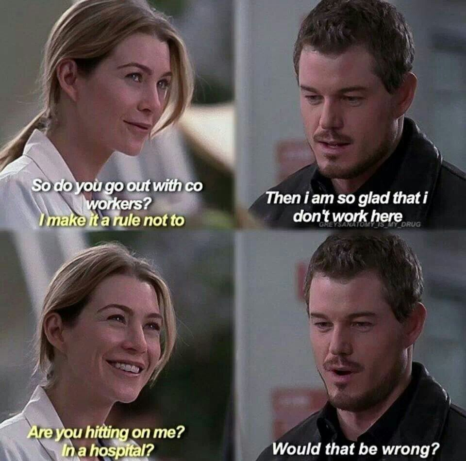 Meredith And Mark  Grey Anatomy Quotes, Anatomy Quote -9811