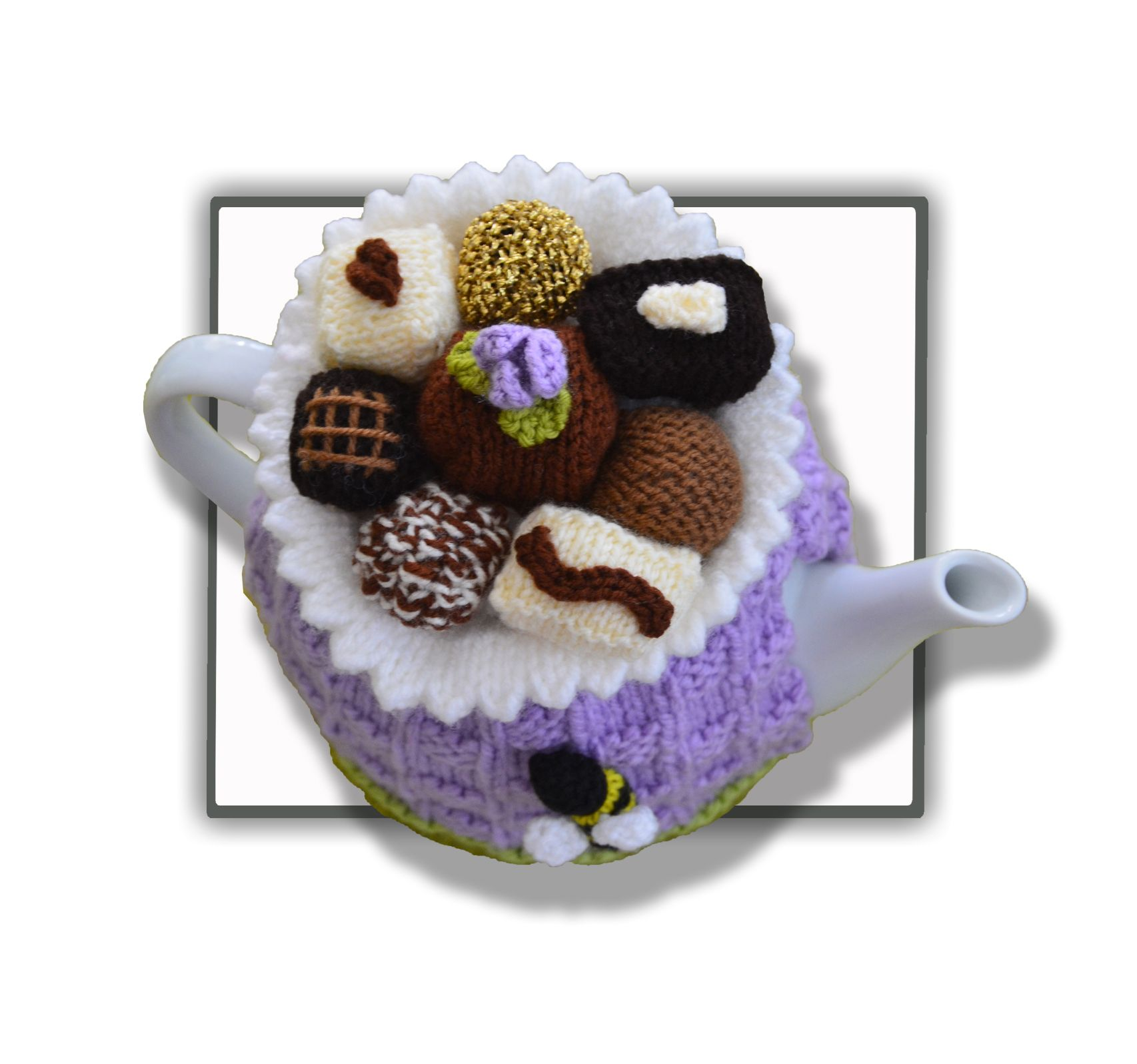 Chocolate Box Tea Cosy!   Crafts   Pinterest