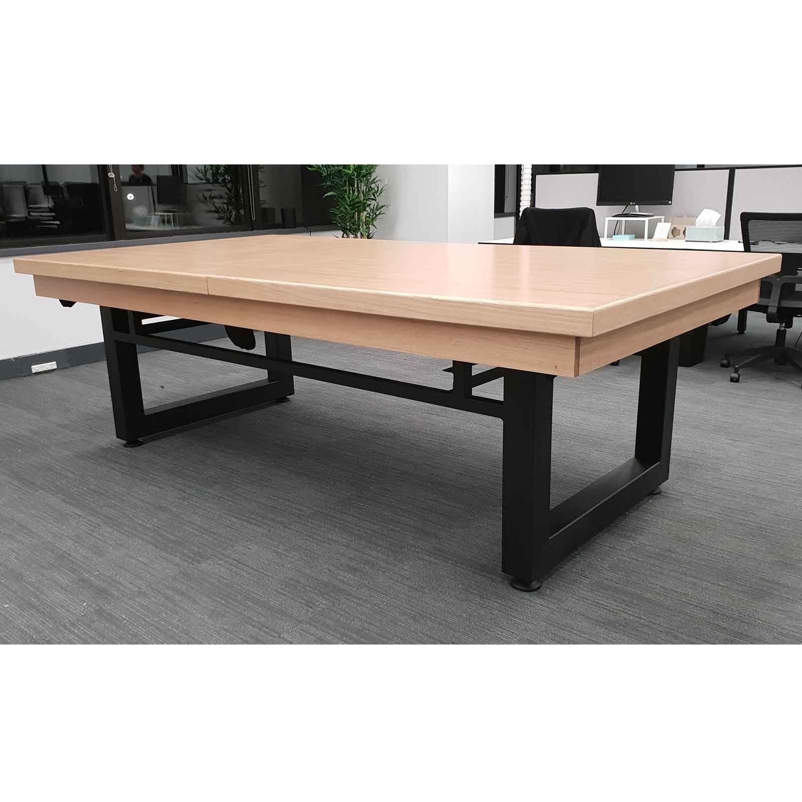 7 Foot Slate Odyssey All In One Pool Dining Table Pool Table