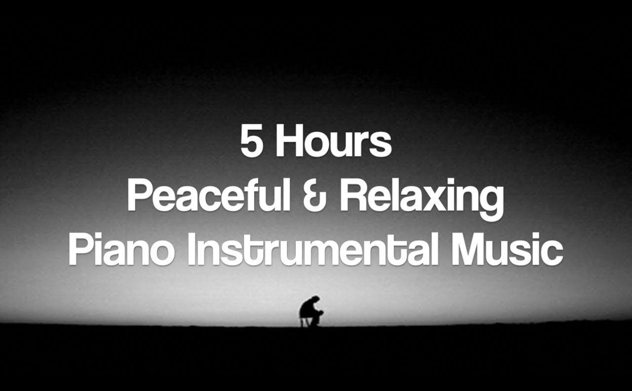 Hours of Peaceful u Relaxing Piano Instrumental Meditation