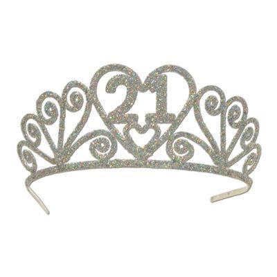 adb64fc3b9 21st birthday tiara - sparkle princess party crown | entertaining ...