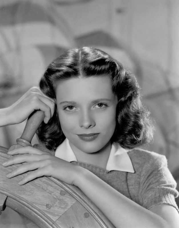 "Cathy O'Donnell, American actress of Irish descent, played Wilma in the 1946 post-WW2 classic, ""The Best Years of Our Lives."""