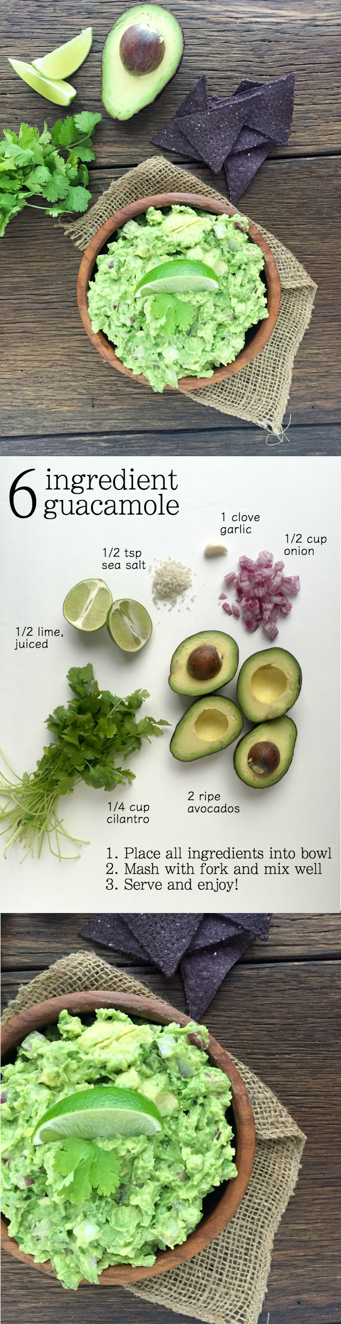 6 Ingredient Guacamole | A Slice of Ky