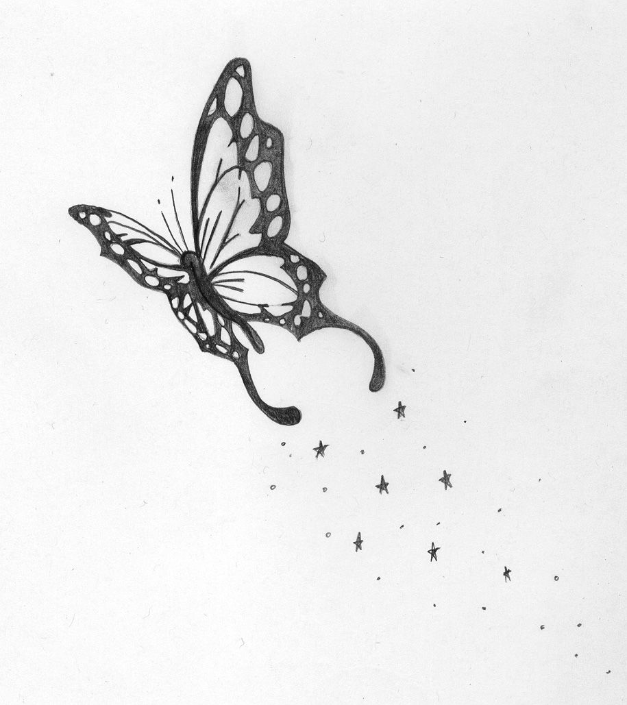 Butterfly Tat , Meaning.. Time to spread those wings and fly fly fly ...